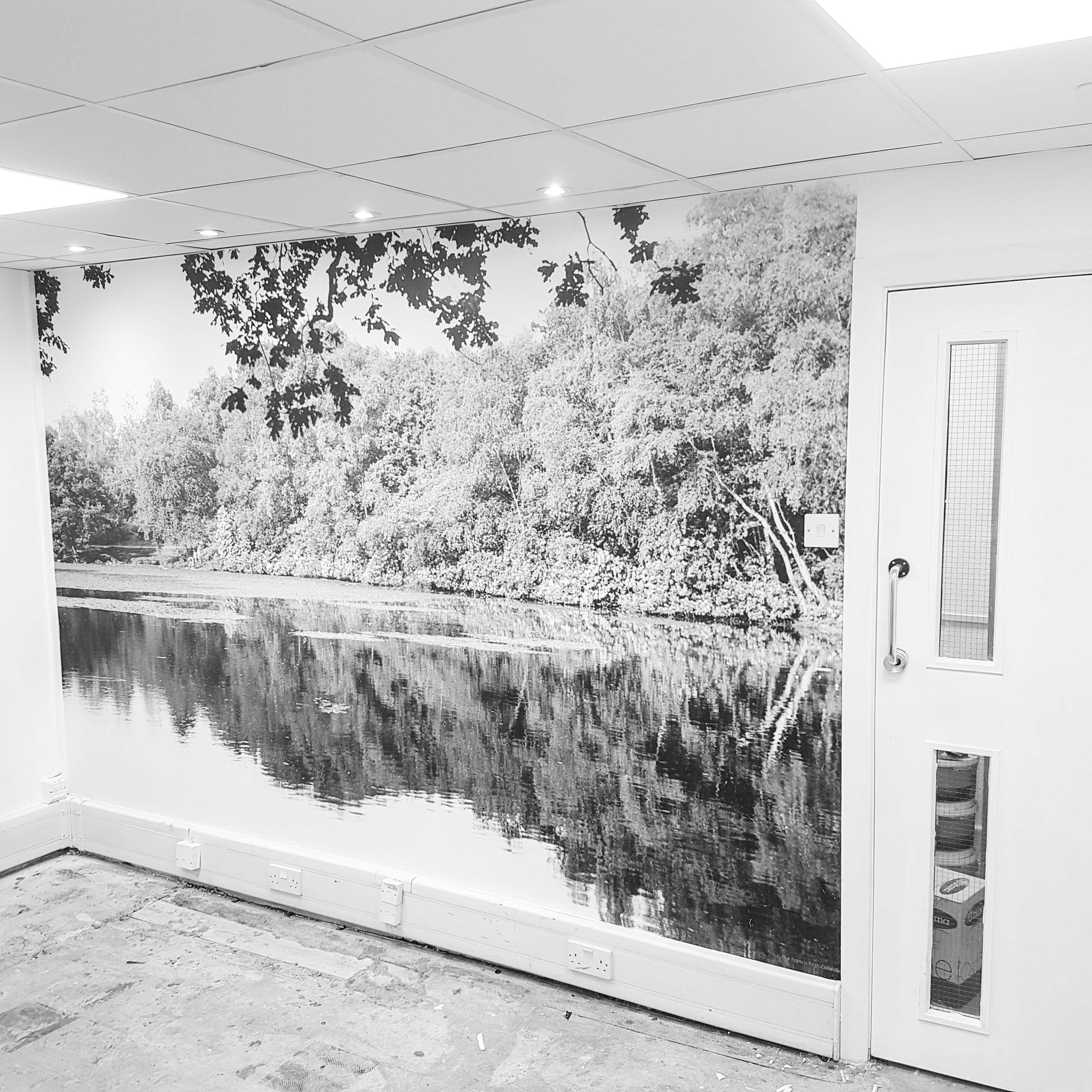 SAB mural pond